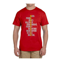 2017 United Kingdom Crossword Tee T Shirt Men Short Sleeve 100 Cotton T Shirts Manchester Fans