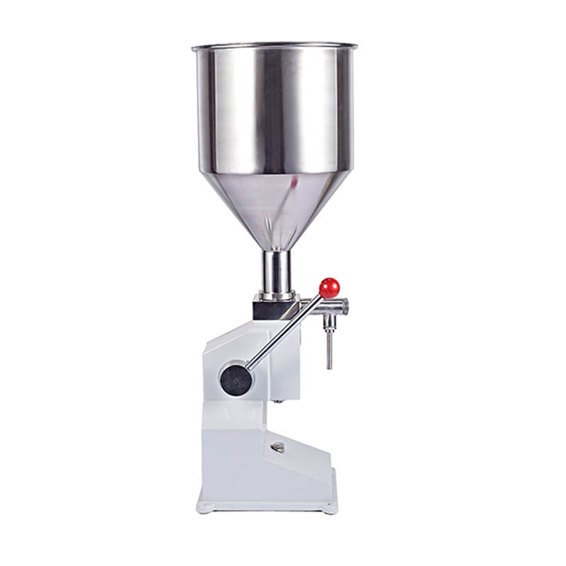 Jamielin Manual Food Filling Machine Pegar Sold Cream Honey Liquid Paste Packaging Equipment Shampoo Juice Filler