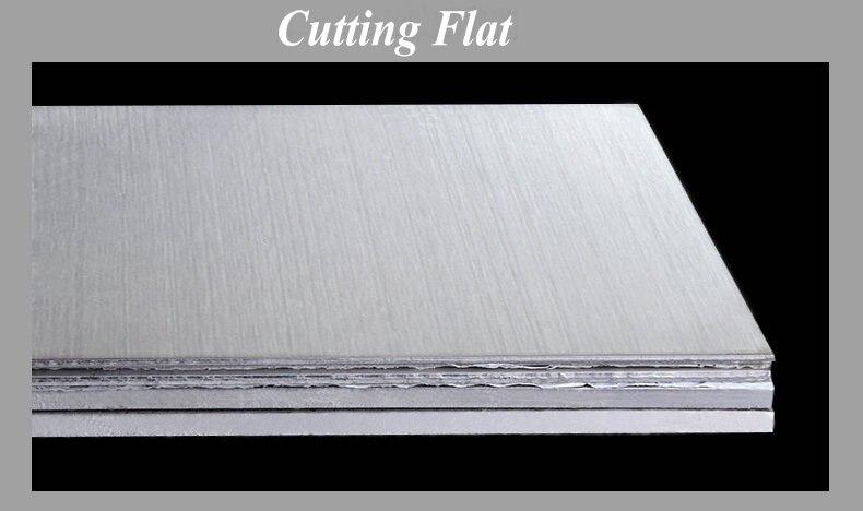 Chapa de Aço Inoxidável Escovado Drawbench Placa de Material DIY Livre grátis