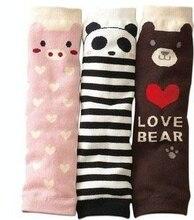 2016 NEW 1 Pair Newborn Leg Warmers Kawaii Cartoon Socks Baby Boys Girls Leg Protectors Children