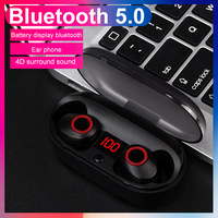 J29 Bluetooth 5.0 TWS Mini Wireless Ear buds Twins In ear Earphone With Battery Case Hands Free For iphone Android