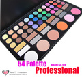 2017 NEW 54 Color Professional Eyeshadow Palette Shinning Makeup Eye Shadow Palette Set 54-1XP Kit Wholesale