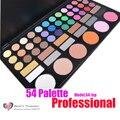 2017 NUEVO 54 Color Profesional Paleta de Sombra de ojos Brillo de Maquillaje Paleta Sombra de Ojos Set 54-1XP Kit Al Por Mayor
