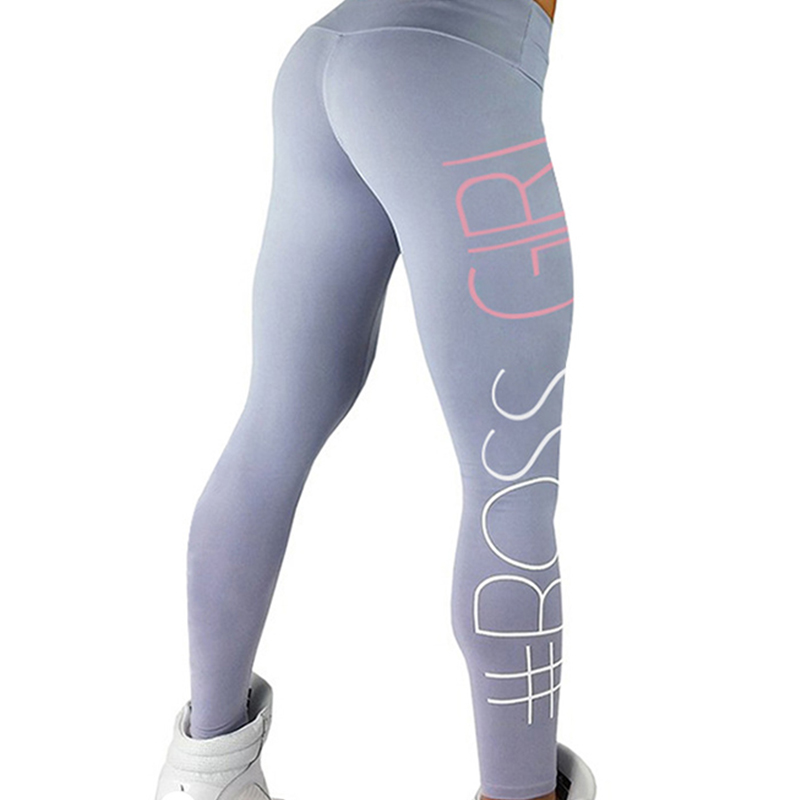 Women Yoga Pants Sports Exercise Tights Fitness Running Jogging Trousers Gym <font><b>Slim</b></font> Compression Pants Leggings Sexy Hips Push Up
