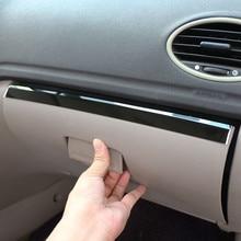 Jameo Авто Нержавеющаясталь салона бардачок украшение Отделка Коробка для хранения наклейки для Ford Focus 2 MK2 2005-2011 запчасти