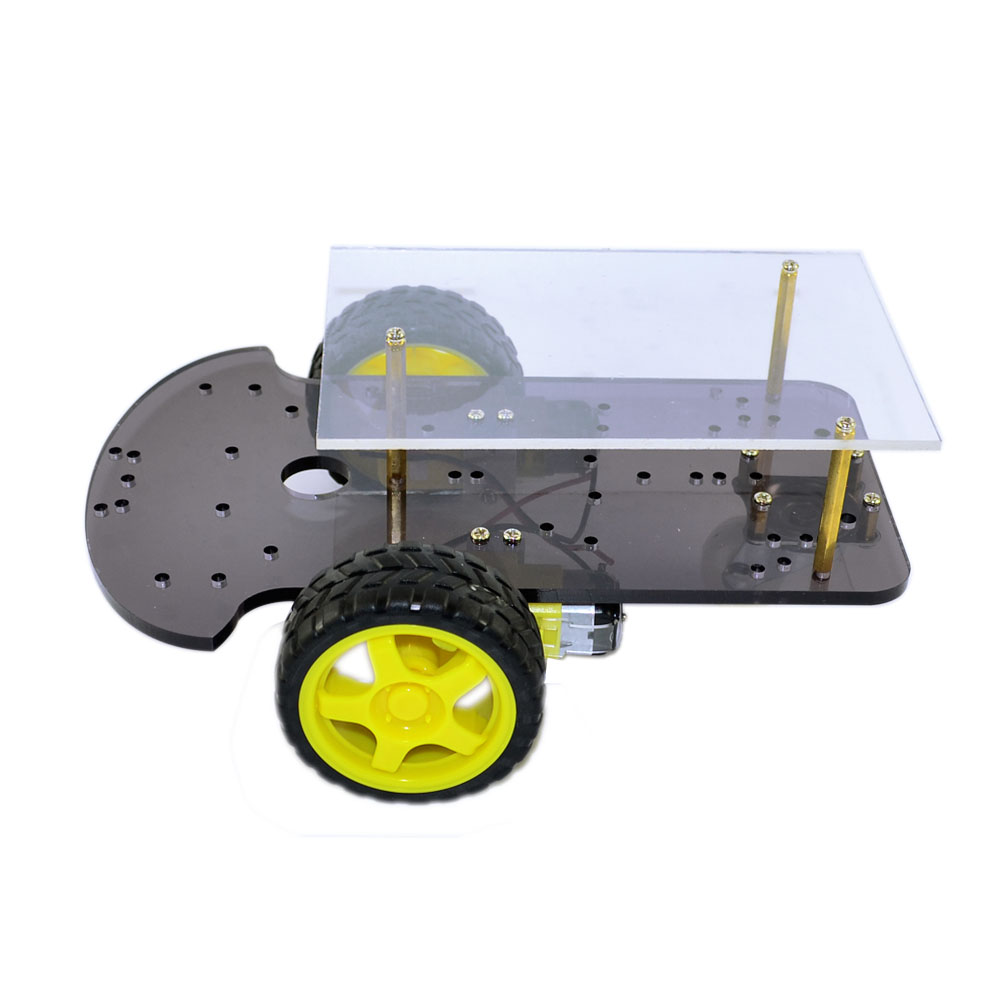 Avoidance tracking Motor Version DIY Science Smart Robot Car Chassis Kit Speed Encoder Battery Box 2WD