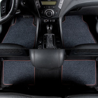 kalaisike universal car floor mats for Chrysler All Models 300c 300s 300 Grand Voyager car styling auto accessories