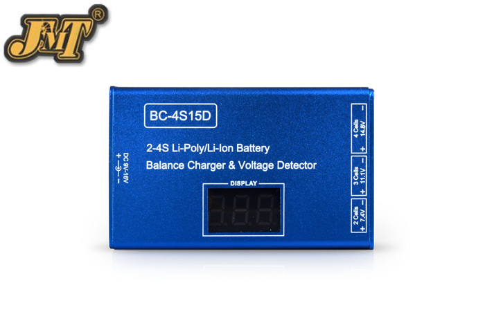 JMT 2S 3S 4S Cell Li-Ion Li-Poly  RC Battery Balance Charger Voltage Detector For Quadcopter Hexacopter No Adapter delipow lithium iron phosphate battery charger charger for 1450010440 3 7v 18650 rechargeable li ion cell