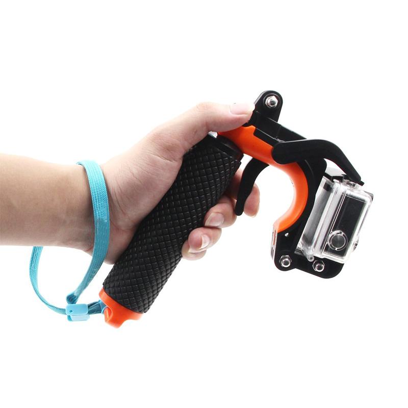 Prix pour Pour gopro hero5 3 + 4 accessoires d'obturation stabilisateur trigger flottant poignée mont main grip trépied manfrotto pour gopro sport caméra