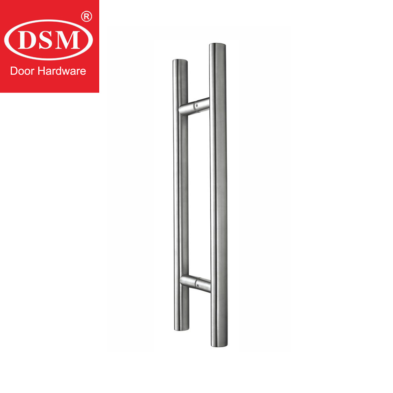 304 Grade Stainless Steel Oval Shape Tube Pull Handles Entrance Door Handle For Entry/Glass/Shop/Store PA-615-36*26*600mm modern entrance door handle 304 stainless steel pull handles pa 104 32 1000mm 1200mm for entry glass shop store big doors