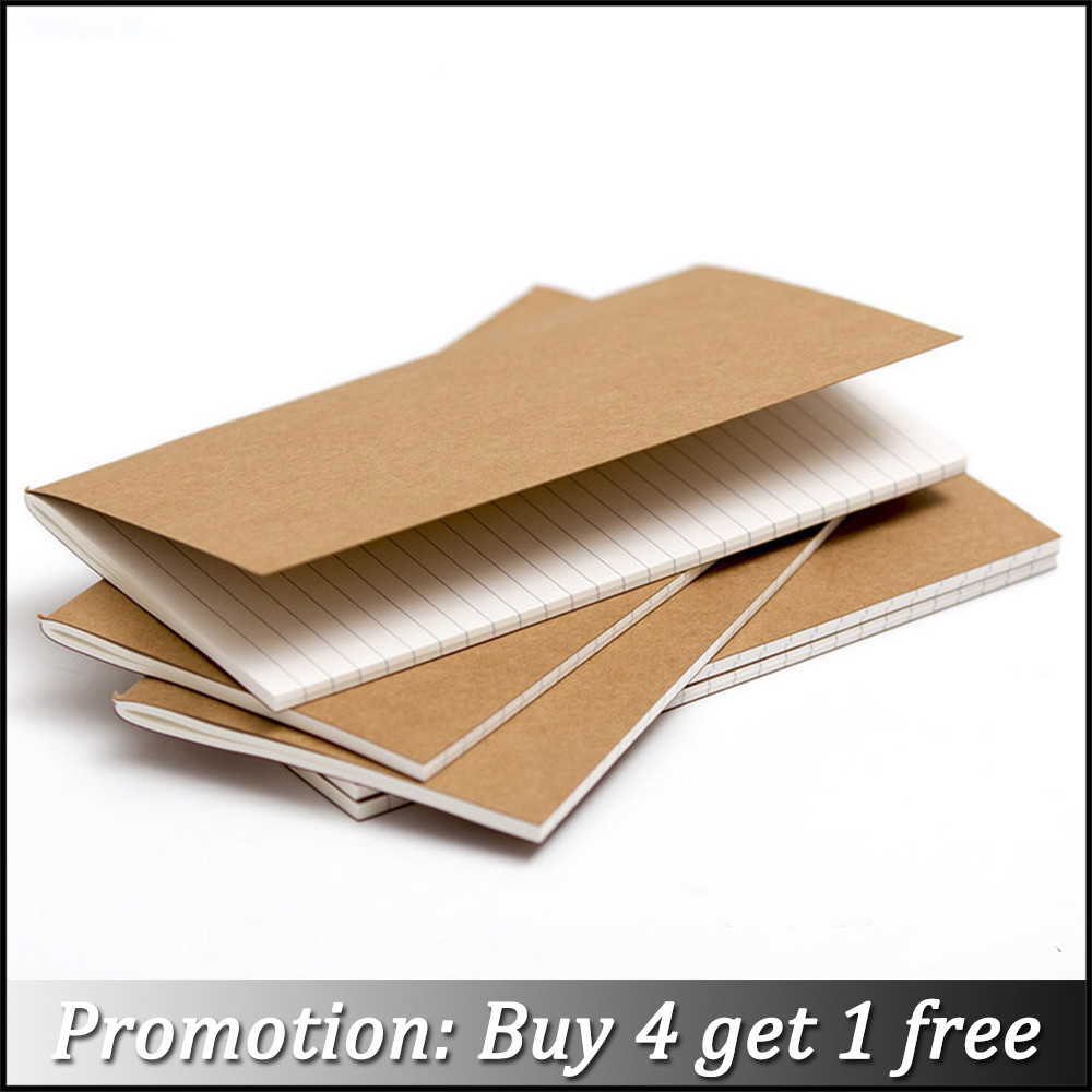 Moterm Handmade Leather Notebook Refill inserts Replace Inner Core Sketchbook Planners 4 Size Travel Diary Journals ...