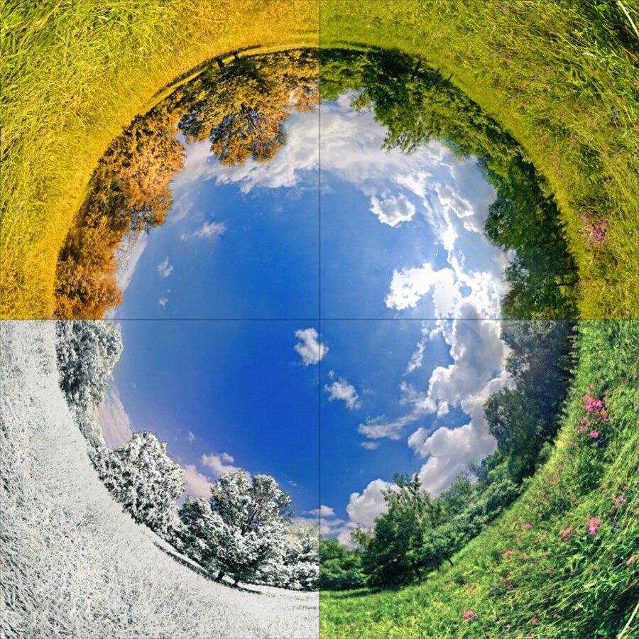 earth going through all the 4 season - 720×720