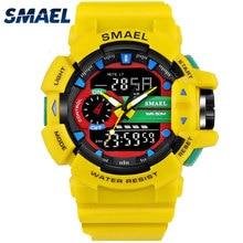 SMAEL Men Watch Digital Sport Watches LED Light Waterproof 30M 1436 Relogio Masculino Montre Homme electronic Wrist Watch Man