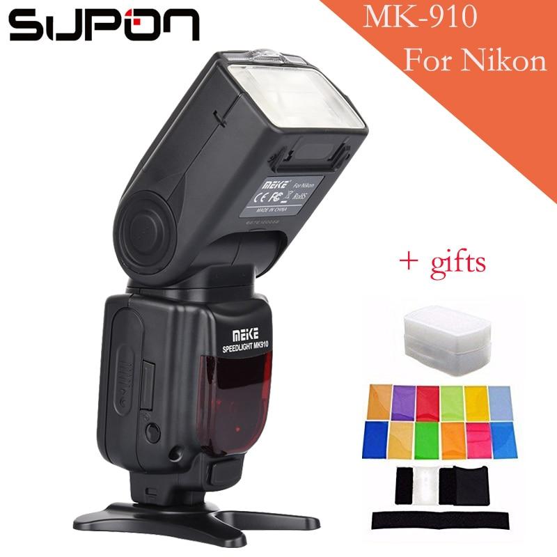 Meike MK-910 MK910 i-TTL 1/8000s HSS Sync Master & Slave Flash Speedlight for Nikon SB-910 SB-900 D7100 D800 D750 D600 DSLR nikon speedlight sb 500