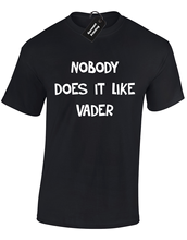 NOBODY DOES IT LIKE VADER MENS T SHIRT STAR TROOPER STORM WARS JEDI S - 5XL Free shipping  Harajuku Tops Fashion Classic цены