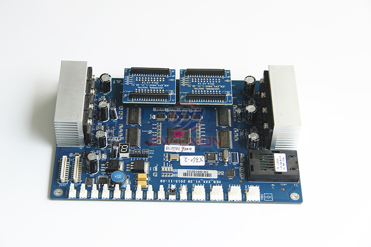 DX5 headboard for galaxy eco solvent printer with 2 cover board best price of dx5 solvent head for eco solvent printer