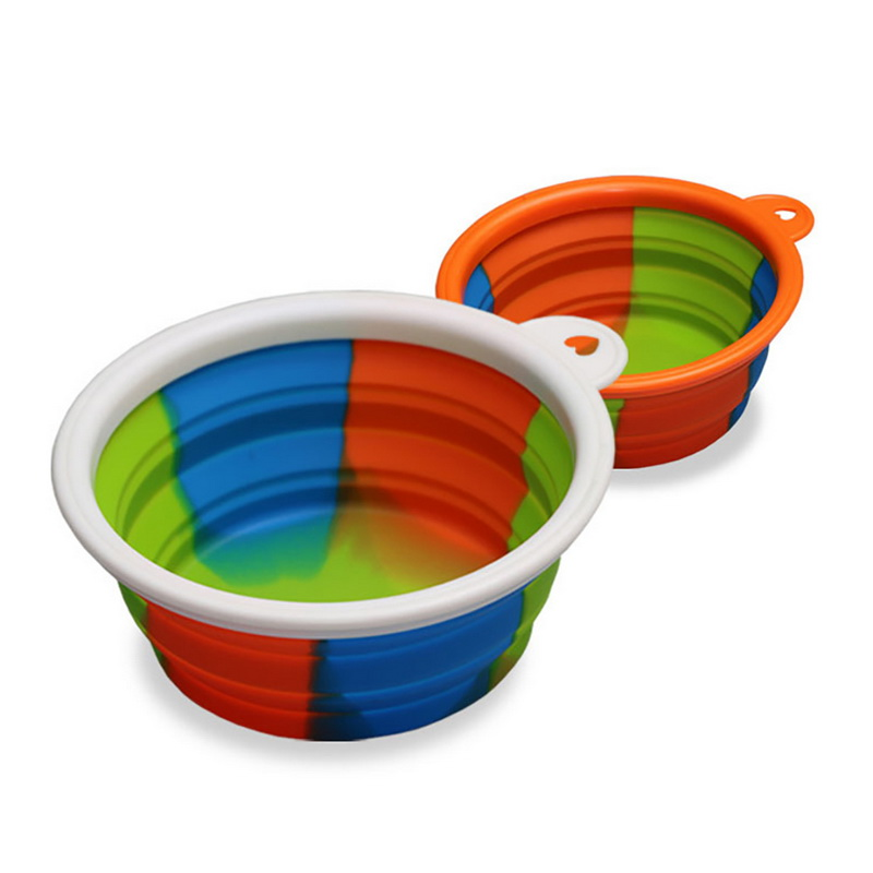Water Rover Portable Pet Bowl: Hoomall Folding Dog Bowl Outfit Portable Travel Bowl Dog