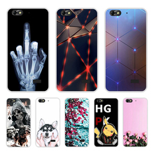 Phone Cases for Huawei Honor 4c Case Luxury Painting Coque for Huawei G Play Mini Honor 4C Cover Phone Bags For Huawei Honor 4C аккумулятор для телефона craftmann hb444199ebc для huawei 4c c8818 g play mini g650 honor 4c