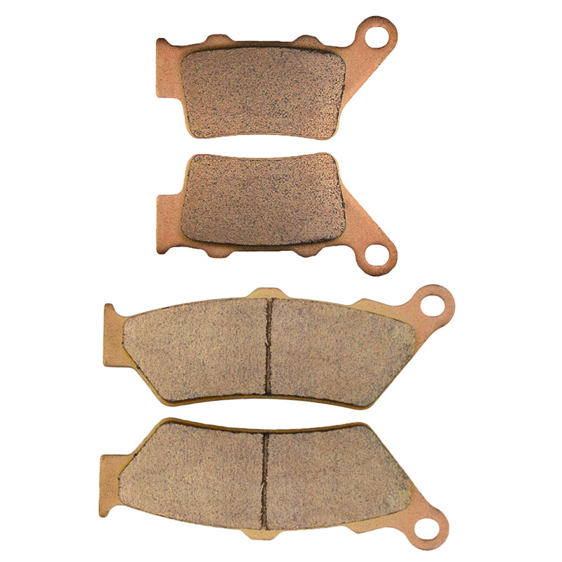 Motorcycle Front and Rear Brake Pads for APRILIA STREET BIKES Pegaso 650 ie 2001-2004 mfs motor motorcycle part front rear brake discs rotor for yamaha yzf r6 2003 2004 2005 yzfr6 03 04 05 gold