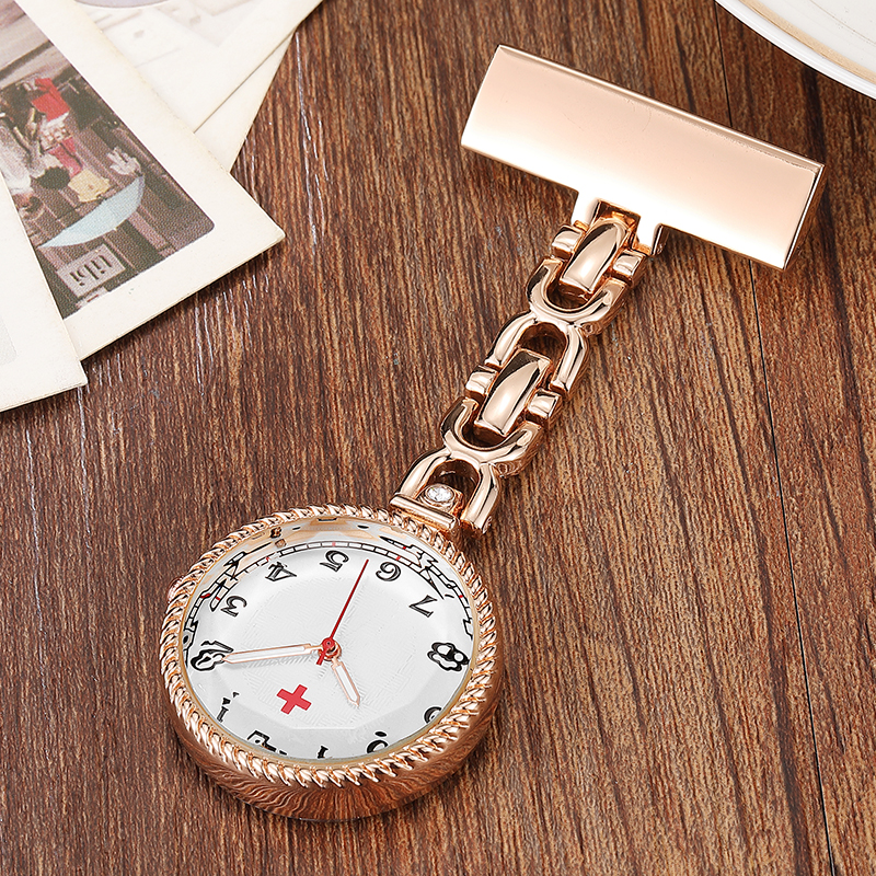 Luxury Laciness Design Nurses Watch Women Men Rose Gold Silver Pin Clip-on Pocket Watch Hanging Brooch Ladies Gifts Nurse Watch luxury laciness design nurses watch women men rose gold silver pin clip on pocket watch hanging brooch ladies gifts nurse watch