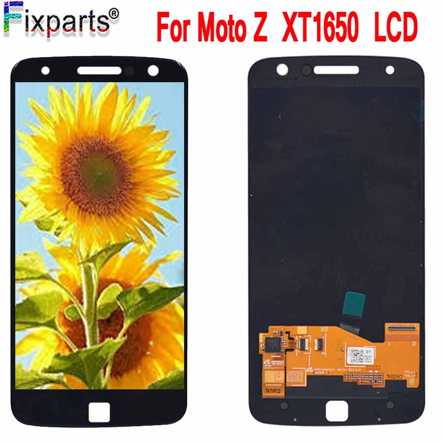 100% Tested For Motorola MOTO Z LCD Display Touch Screen Digitizer Assembly Replacement 5.5 For Motorola MOTO Z XT1650 LCD100% Tested For Motorola MOTO Z LCD Display Touch Screen Digitizer Assembly Replacement 5.5 For Motorola MOTO Z XT1650 LCD