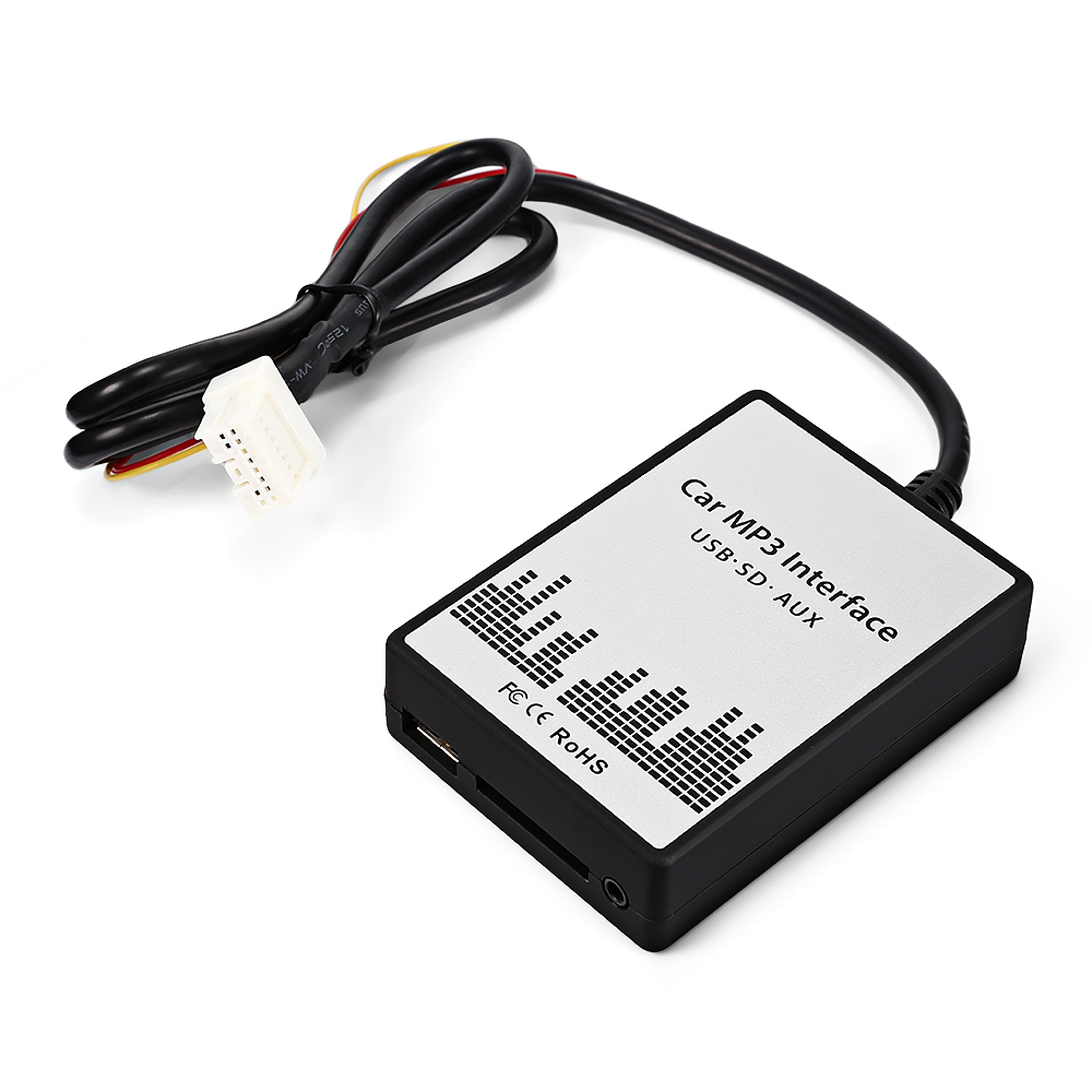 ACCEWIT Car MP3 Player Radio Interface Adapter 3.5mm AUX
