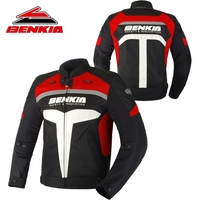 BENKIA Motorcycle Summer Jcaket Men Racing Clothes Spring And Autumn Mesh Breathable Riding Anti Wrestling Clothes