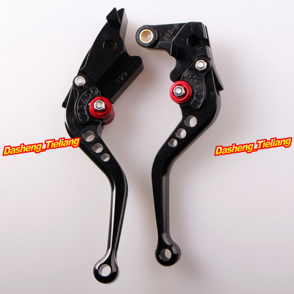 Adjustable Short Brake Clutch Levers for Honda 2003 2004 2005 2006 CBR600RR F5 & 2002 2003 CBR954RR adjustable billet short folding brake clutch levers for honda xl 1000 varadero 2001 2002 2003 2004 2005 06 07 08 09 10 11 12 13
