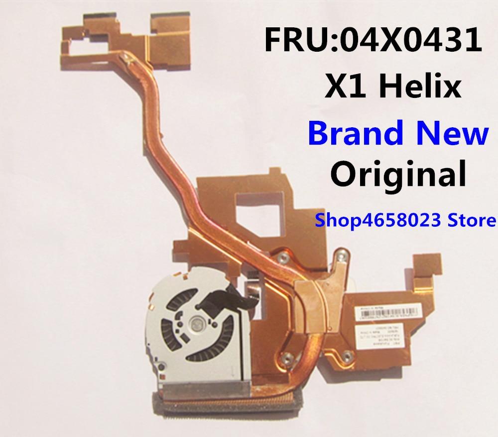 NEW for Lenovo Thinkpad X1 Helix CPU Cooling Fan Heatsink Assembly FRU 04X0431