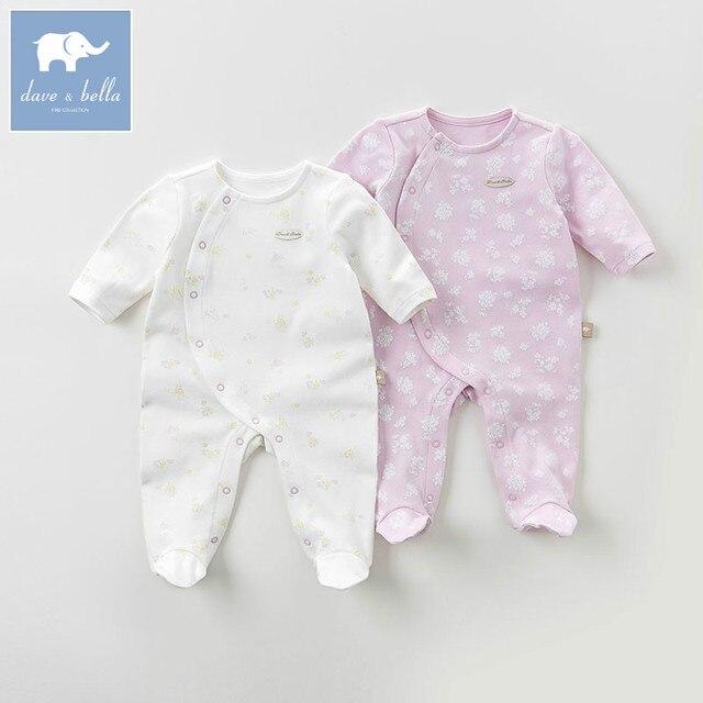 0908b533f51eec DB6067 dave bella herbst baby 0-12 Mt nachtwäsche pyjamas schmetterling  gedruckt kleidung set bunte