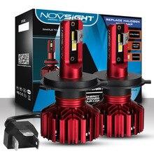 цена на NOVSIGHT H4 H7 LED Auto Headlight Bulbs H11 H1 H3 H8 H9 9005 9006 Car  Hi-Lo Beams 60W 10000LM 6000K Fog Light Bulb DC12v 24v