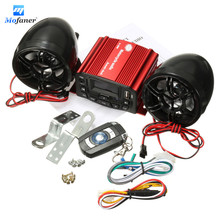Mofaner Universal Motorcycle Audio Remote Control Speaker Suit Sound System SD USB MP3