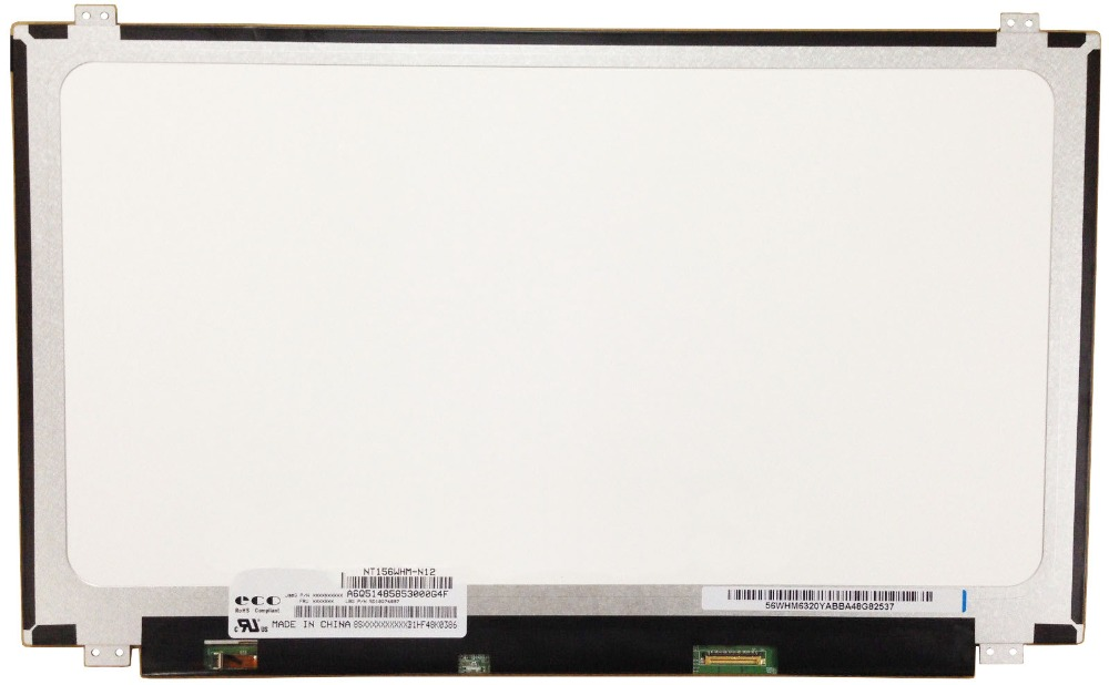 15.6 For IdeaPad 100-15IBY Screen  for Ideapad 100 100-15IBD Screen Display 80QQ Matrix Laptop LCD 30Pin 1366X768 Replacement lcd laptop screen 15 6 flat panel ltn156at05 ltn156at05 307 lp156wh4 15 6 screen display replacement