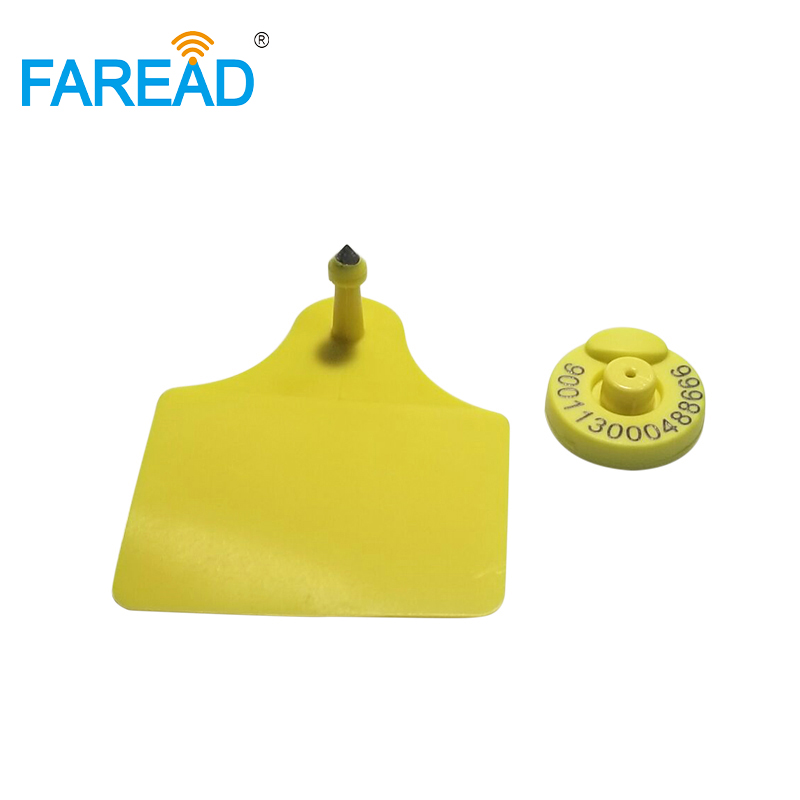 Wholesale Best Quality X80pairs Passive RFID Tag FDX-B 134.2KHZ RFID Livestock ID Tag For Animal Identification