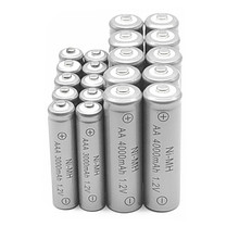 10pcs AA 4000mAh Ni-MH Rechargeable Batteries + 10pcs AAA 3000mAh Rechargeable Batteries
