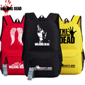 2016 New The Walking Dead Cosplay Oxford Printing Canvas Backpack Fashion Unisex School Bags for Teenagers Mochila Feminina