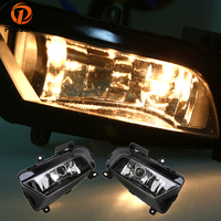 POSSBAY Auto Car Front Fog Light Assembly for Audi A4 Sedan 2013 2014 2015 2016 Lower Bumper Fog Lamps 12 Halogen Bulbs