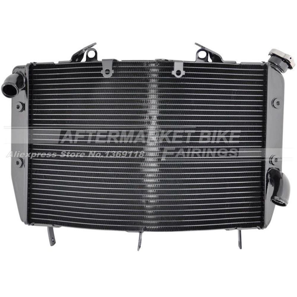 Motorcycle Radiator for YAMAHA YZF R6 2008 2009 2010 Aluminum Water Cooling Replacemen clip on handlebars handle bars for yamaha 2006 2007 2008 2009 2010 yzf r6 yzf r6 motorcycle spare parts manufacturer