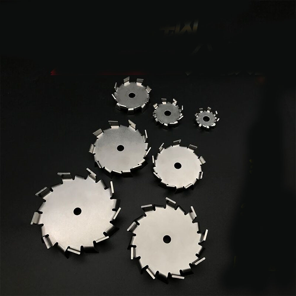 1pc Lab Stainless Steel DIA3cm To 18cm Saw Tooth Type Stirrer Dispersion Disk, Round Plate Dispersing Propeller Stirring Blade