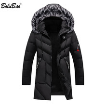 BOLUBAO Fashion Brand Men Wram Parka Casual Coat Winter High Quality Men Hooded Coat Jackets Casual Mens Parka