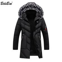 Bolubao 패션 브랜드 남성 wram parka 캐주얼 코트 겨울 고품질 남성 후드 코트 재킷 캐주얼 남성 파카