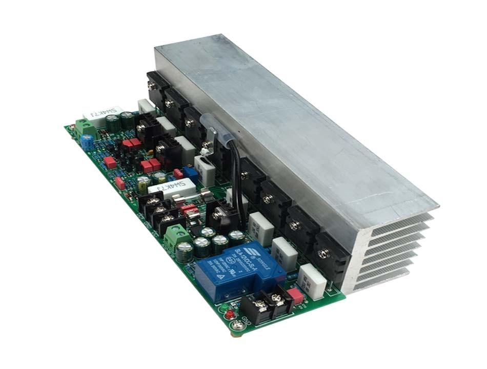 500W mono C5200 / A1943 symmetric HIFI fever amplifier tube A level B amplifier board radiator велосипед kross level b 2017