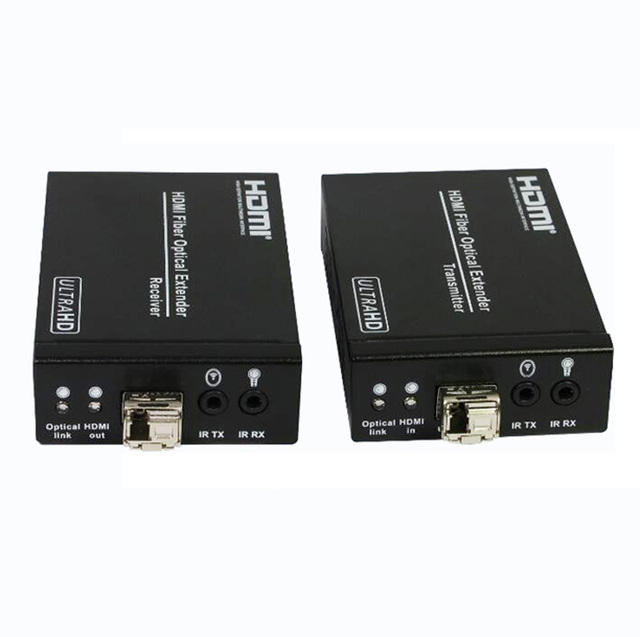 DHL 4 К HDMI Волоконно-Оптические Extender 3300ft/1000 м 1080 P 4 К * 2 К 3D HDMI TX/RX конвертер HDMI1.4, HDCP1.3 С RS232