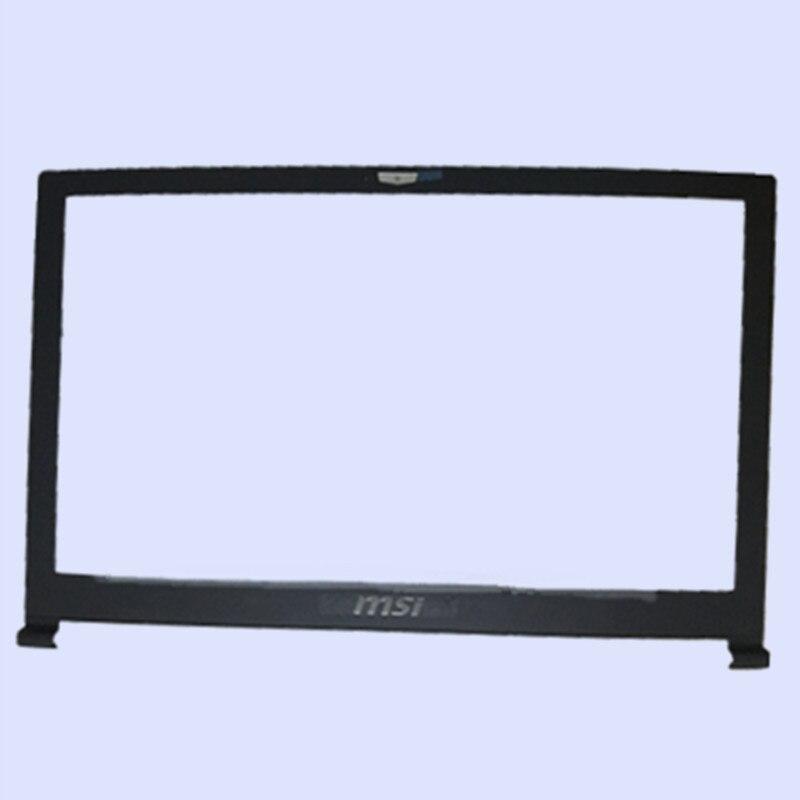 Noir Nouveau et Original Ordinateur Portable LCD Avant Lunette pour MSI GS63 GS63VR