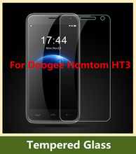 9H 2.5D Arc edge Tempered Glass For Doogee Homtom HT3  Explosion-proof Screen Protector High Clear Screen Film Free Shipping