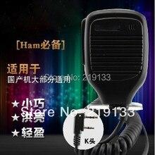 baofeng uv-5re uv-5r plus microphone speaker portable for walkie talkies two-way radio