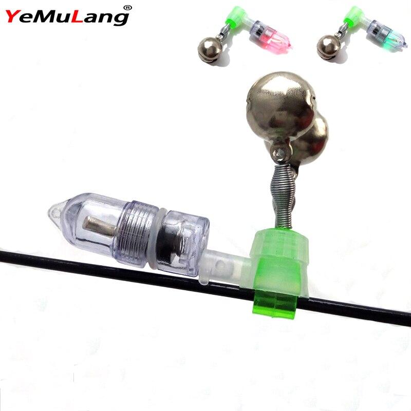 YeMuLang Brand Hight de înaltă calitate Twin Bells LED lumina - Pescuit