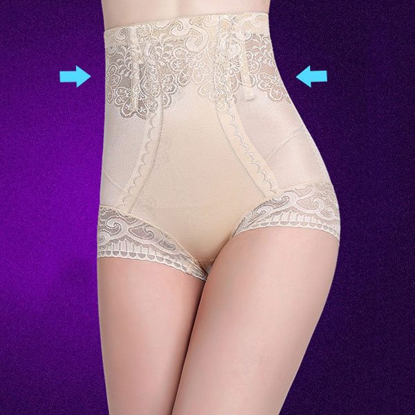 Sexy Women Slimming High Waist Shapewear Briefs Thin Abdomen Hips Lingerie Body Shapers Black Nude Color 88 SN-Hot 1