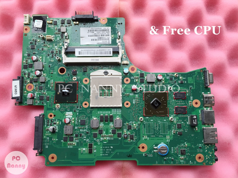 NOKOTION V000218030 6050A2332301 Mainboard para Toshiba L650 L655 Laptop Motherboard s989 HM55 w/Placa Gráfica funciona