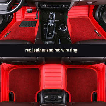 HLFNTF custom Double car floor mat for Volkswagen vw polo passat b5 6 golf tiguan jetta touran touareg car stylingcar - DISCOUNT ITEM  55% OFF All Category